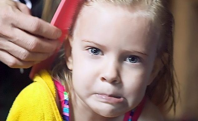 Toddler Head Lice and Nits