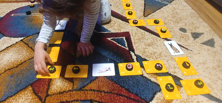 DIY No-Screen Coding Game for Kids
