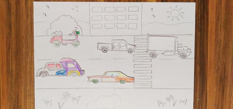 Hotwheels Drawing